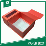 Boîte-cadeau faite sur commande de fantaisie de papier de carton de taille