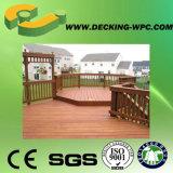 Revestimento do Decking da boa qualidade WPC com CE
