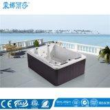 Monalisaのよい方法アクリルの屋外のマッサージの浴槽の温水浴槽