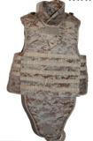 Armadura corporal de camuflagem para fins militares