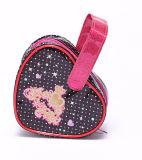 Kosmetische Zak van pvc van de Zak van de Verpakking van de Jonge geitjes van de Vorm van het hart de Kosmetische Leuke