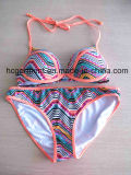 Износ пляжа напечатал сексуальный износ Бикини заплывания для женщин/повелительницы