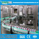 Máquina de rellenar de relleno automática del pequeño jugo de la poder de soda de la máquina del fregado de las botellas que capsula