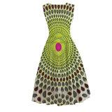 ワックスの女性の衣服のアンカラの花柄のドレスの小さいQuatityのアフリカの習慣