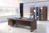 マネージャ部屋管理L形の木のオフィス表(HF-SI0563)