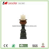 Het Beeldje van de Houder van de Kaars van de Pijler van Polyresin voor de Decoratie van het Huis