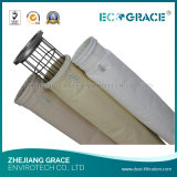 Saco de filtro da poeira de Nomex de pano da planta de mistura do asfalto (D160 x L3000mm)