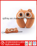 Подушка валика шеи игрушки обезьяны плюша мягкая