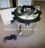 Stérilisateur portable à pression en acier inoxydable 18L avec Timmer