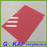 100% virgem PMMA material acrílico Placa de sinal