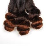 prolonge de cheveux humains de vison de cheveu de Vierge d'onde de corps d'Ombre de la pente 8A