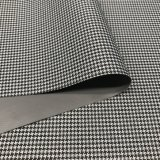300d Houndstooth Jacquard PVC Coated Oxford Tecido