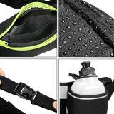 Bolso de la cintura del deporte del recorrido de la manera con las botellas de agua