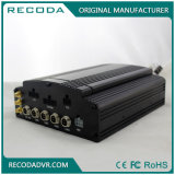 선택 이동할 수 있는 SD HDD 4 채널 차 DVR 사진기 시스템 하드 디스크 3G/4G WiFi GPS