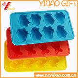 취사 도구 FDA/증명서 실리콘 케이크 형 다이아몬드 아이스 큐브 쟁반 쟁반 곰 (YB-HR-57)