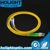 Fca au cordon de connexion de fibre optique de FC