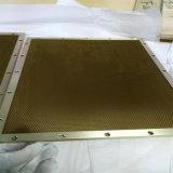 Steel Honeycomb Wind Yellow Chromated the U.K. (HR343)