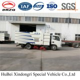 4cbm Compact Dongfeng Street Road Sweeper Euro 4