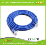 La cuerda del cable RJ45 de cobre sin aislamiento CAT6 Patch