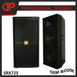 Il PRO audio altoparlante della fase si raddoppia gli altoparlanti Srx725 da 15 pollici