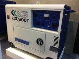 Kipor 6kw Дизель Портативный Сайлент-генератор Kx8500t с Kipor Engine