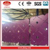 Proyecto de construcción de la fachada de aleación de aluminio paneles decorativos