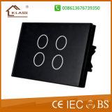 interruttore astuto della parete di tocco dell'Ue 4G con la certificazione di RoHS del Ce