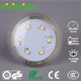 luz del punto del programa piloto LED del IC de la MAZORCA de 5W 7W GU10 SMD