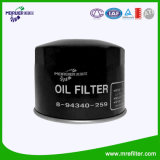 Filtro dell'olio delle parti di motore 8-94340-259 per Isuzu & l'automobile di Mazda