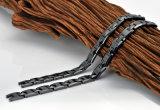 L'ematite nera di colore borda il braccialetto di ceramica per la funzione di salute (10071)