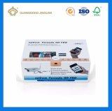 Caisse d'emballage rigide de papier de carton de forme de livre de qualité pour les produits électroniques (avec la fermeture magnétique)