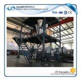 Gran quantidade de resíduos de plástico PE / PP / PVC Film / Floco Recycling Granulators