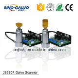 De marcado láser YAG Galvo escáner Js2807 con software de control Ezcad
