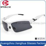 Gafas de sol corrientes de conducción de ciclo ULTRAVIOLETA antis modificadas para requisitos particulares irrompibles universales del deporte al aire libre del marco negro de las gafas de sol del aviador