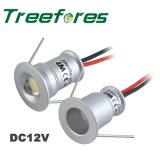 lámpara impermeable de la luz de techo de la C.C. 12V LED de 1W IP65 LED