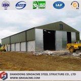 Atelier en acier de construction de bâti portique de Sinoacme