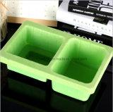 Verde dos PP que reune a bandeja de empacotamento da bolha da ferragem