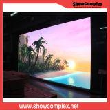 Alta visualización de LED delgada de interior gris del alquiler de la promoción HD del nivel