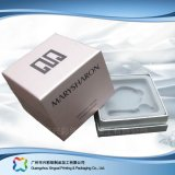 Plastic Insert (XC-1-054)를 가진 나무로 되는 Paper Folding Packaging Cosmetic Box