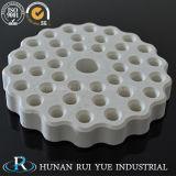 Tubo radiante del riscaldatore di ceramica elettrico a temperatura elevata dell'allumina per la fornace
