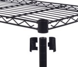 DIY 5 полки дома - это стальная проволока стеллажей в порошковое покрытие