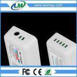 2.4G 4-ZONES controlador RF RGBW remoto inalámbrico, el tipo del botón controlador