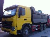 HOWO A7 6X4 Volvoのダンプボックスが付いている25トンのダンプカー