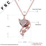 De vrouwen vormen de Halsbanden van de Tegenhanger van de Vos van het Kristal van het Bergkristal van de Legering van Juwelen