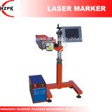 Producto-Línea tipo máquina de Hzlc -30 de la marca de la etiqueta de plástico del laser del CO2 del RF de China