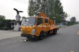 鋼鉄ガードレールのポストのための油圧影響のハンマーが付いているトラックを運転するガードレールのポスト