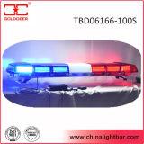 1600mm LED roter Röhrenblitz Lightbar mit Lautsprecher (TBD06166-100S)