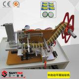 Machine à étiquettes plate semi automatique de prix bas