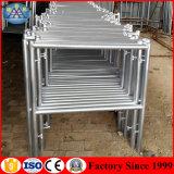 足場製造業者Hの梯子フレームの屋内自己の販売のための上昇の足場システム