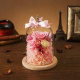 Fiori creativi per il regalo di compleanno di giorno del biglietto di S. Valentino di festa
